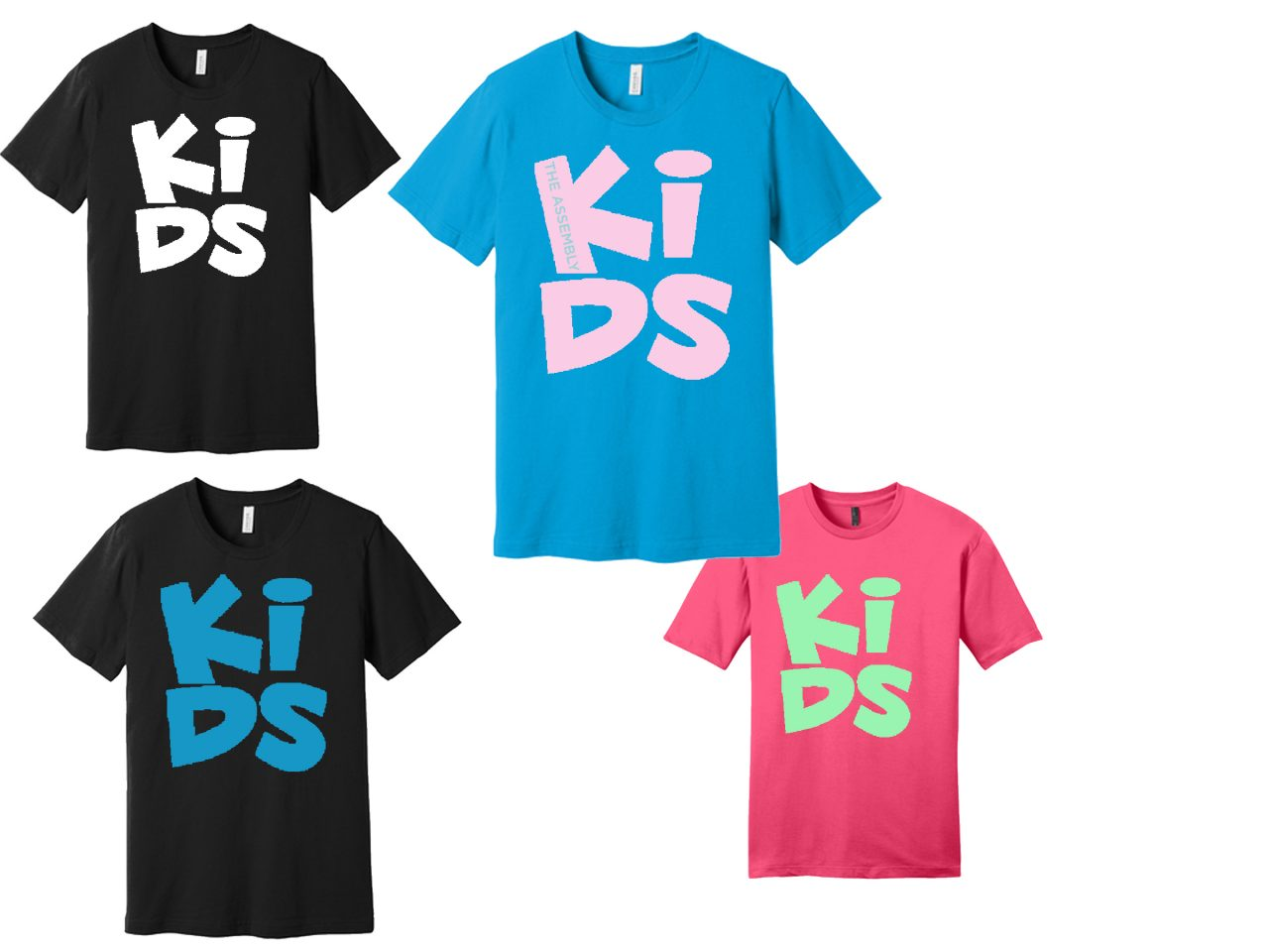 kids team big logo