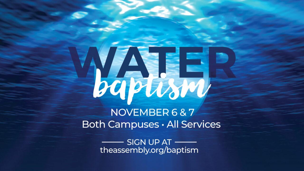 water-baptism